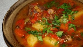 Шурпа  Узбекская кухня