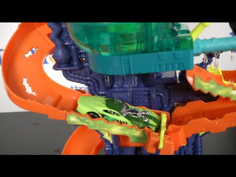 Hot Wheels Color Splash Science Lab From Mattel Youtube