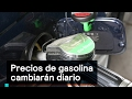 Precios de gasolina cambiarán diario - Gasolina - Denise Maerker 10 en punto