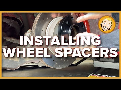INSTALLING WHEEL SPACERS | Porsche Boxster 986