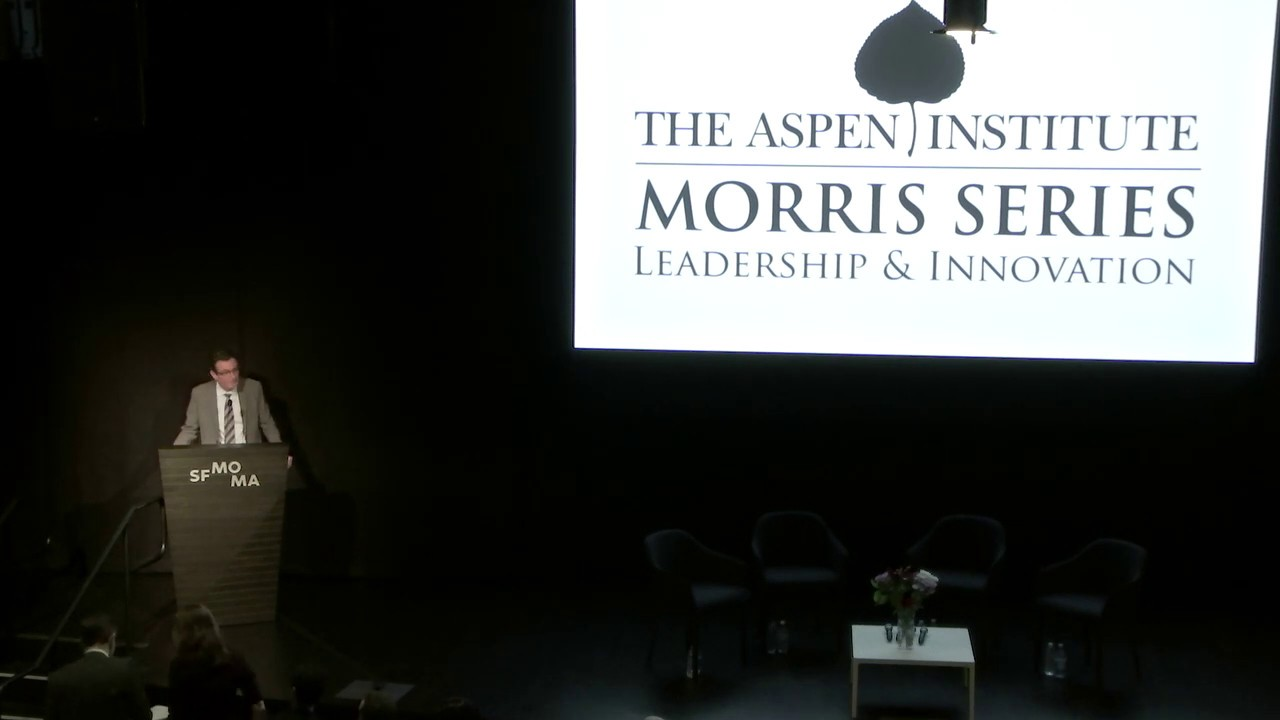 Morris Series Lecture on Leadership and Innovation