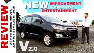 Improvement Baru INNOVA V BENSIN Dapat Rear Seat Entertainment (RSE) Toyota Indonesia