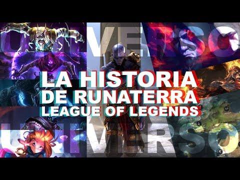 EL ORIGEN DEL MUNDO DE LEAGUE OF LEGENDS | Universo Lol con Halo | Historia de Runaterra thumbnail