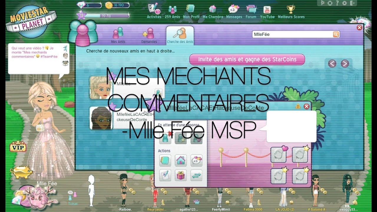 Mlle Fée MSP Mechant mentaire