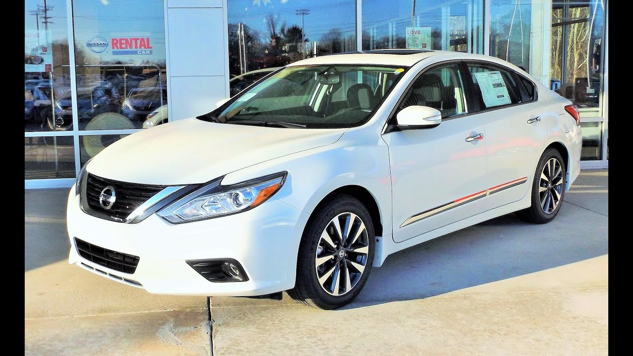 2016 Nissan Altima 2.5 SV Review, Start Up and Tour - YouTube