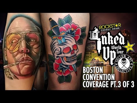 Rockstar Energy Drink Inked up Tour Boston Convention Coverage pt.3 of 3
