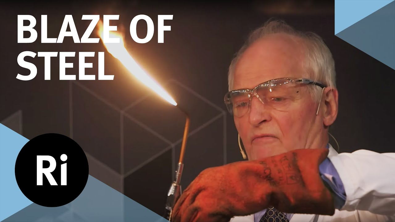 Blaze of Steel: Explosive Chemistry - with Andrew Szydlo