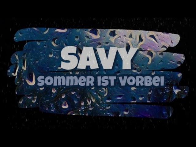 Savy - Sommer ist vorbei