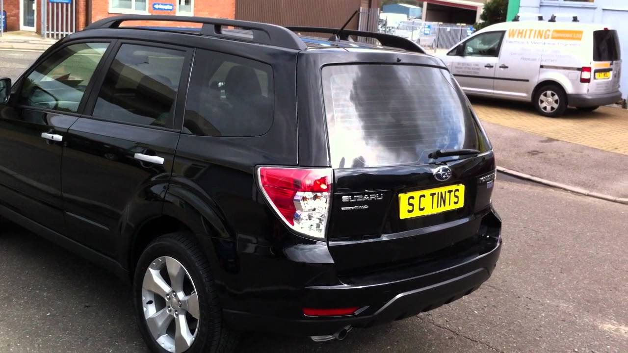 South Coast Subaru >> Subaru Forester with medium tints on all rear windows ...