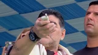 بالفيديو.. شاهد تمثال للأسطورة مارادونا في الهند