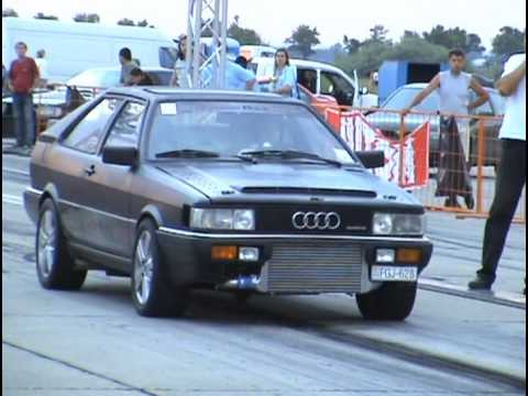 audi 80 coupe quattro turbo 10 3 220 drag race 1 4 mile. Black Bedroom Furniture Sets. Home Design Ideas