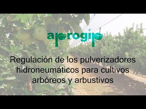 Regulación de los pulverizadores hidroneumáticos para cultivos arbóreos (APROGIP)