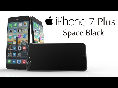 iPhone 7 Plus Space Black with Capacitive Home Button, 3D ...