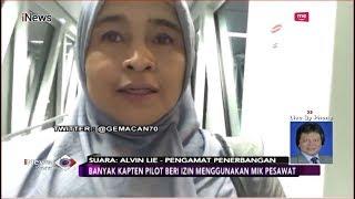 Neno Warisman Gunakan Mikrofon Pesawat, Ini Penjelasan Pengamat Penerbangan - iNews Sore 29/08
