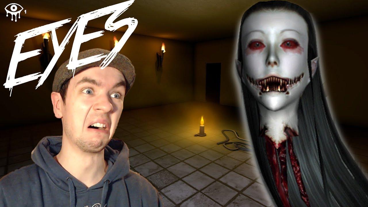 eyes best burglar ever indie horror game commentary face cam