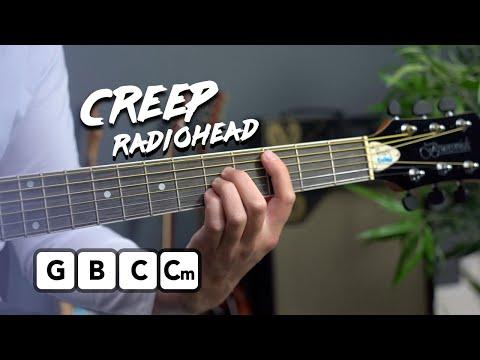 Radiohead - Creep Guitar Lesson Tutorial
