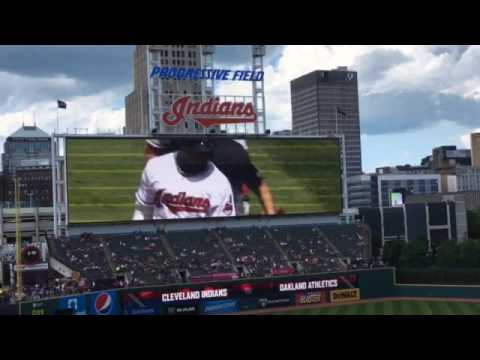 Cleveland Indians pay tribute to Rajai Davis with video montage