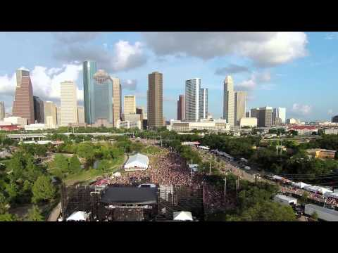 Houston Free Press Summer Fest Aerial Footage