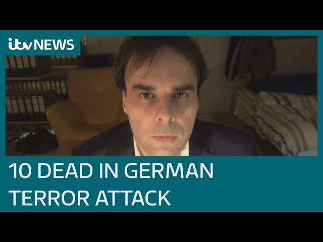Far-right terror probe after ten killed in Germany shootings | ITV News