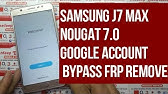 How To Samsung Galaxy J7 Max [ SM-G615F ] Google Account