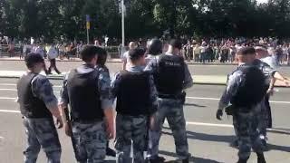Допускай!: Акция протеста в Москве 27 июля 2019 года