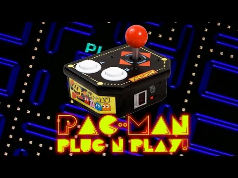 Jakks Pacific Pac Man Plug N Play!