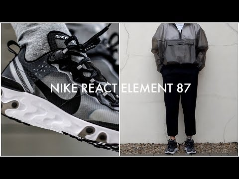 HOW TO STYLE NIKE REACT ELEMENT 87 | 3 Outfit Ideas | Men's Fashion | Daniel Simmons
