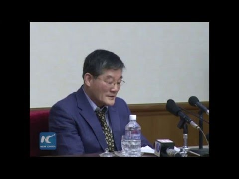 S.Korea-born U.S. citizen confesses espionage at press conference in Pyongyang