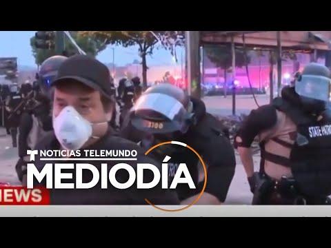 Liberan a equipo de CNN que fue arrestado durante protestas en Minneapolis   Noticias Telemundo