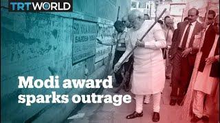 Gates Foundation under fire over award to Indian PM Narendra Modi