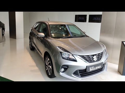 Maruti Suzuki Baleno facelift 2019| Alpha variant CVT Manual Transmission | petrol Silver colour