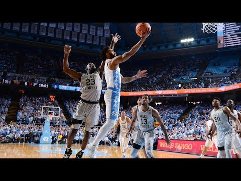 UNC Men's Basketball: Berry Lifts Heels To 73-69 Win Over Wake Forest