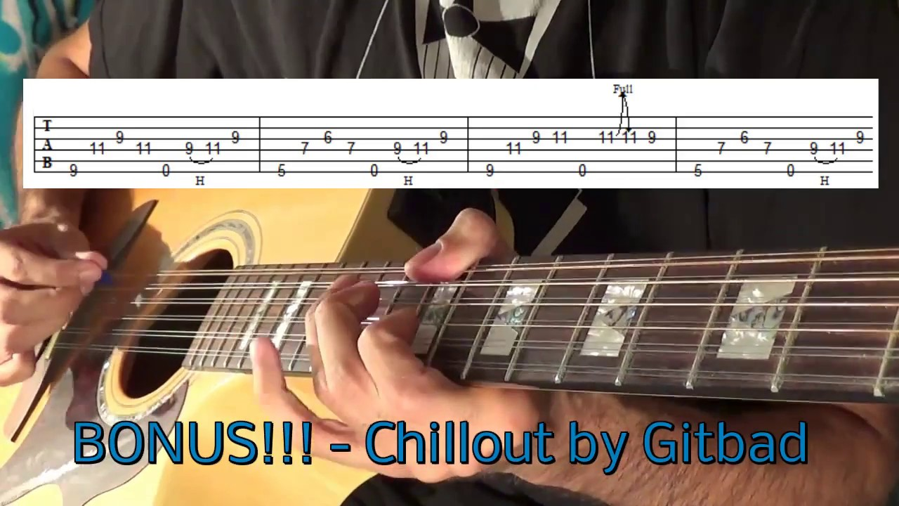 top 15 amazing clean acoustic guitar riffs tab youtube. Black Bedroom Furniture Sets. Home Design Ideas