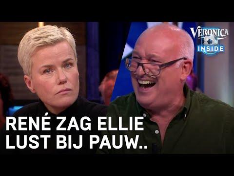 René zag Ellie Lust bij Pauw: 'Jezusmina, wat is dit man?!'   VERONICA INSIDE RADIO