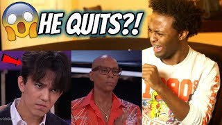 DIMASH QUITS THE WORLD'S BEST  & JUDGE GETS MAD!! (IT GETS HEATED!) REACTION!!