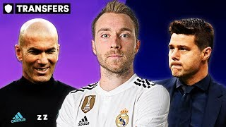 ERIKSEN TO MADRID FOR £130M? | LATEST TRANSFER NEWS REVIEW