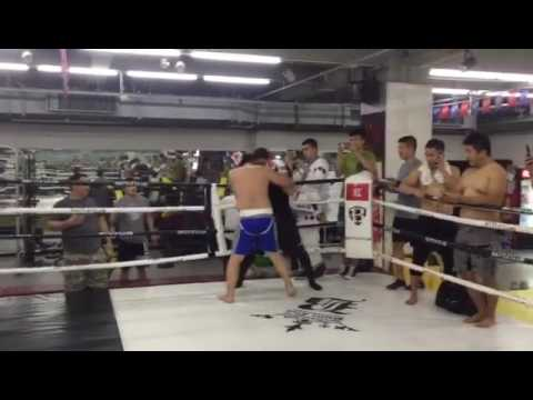Awaresome Chinese Traditional BaGua Vs. MMA on Stage-2