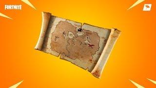 Mapa Skarbów Fortnite!!!!!