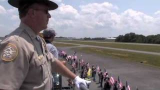 Body of Lance Cpl. Seth Sharp arrives at Tom B. David Airport