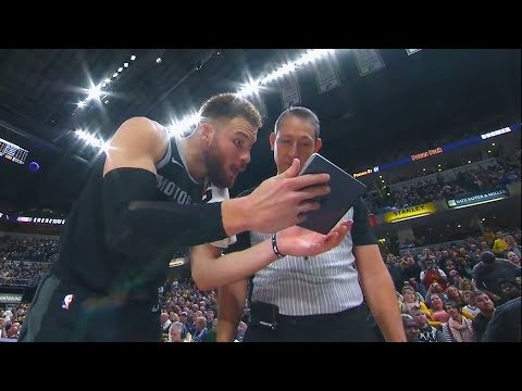 Blake Griffin Gets Sick Of Refs & Uses An iPad To Argue! Pistons vs Pacers