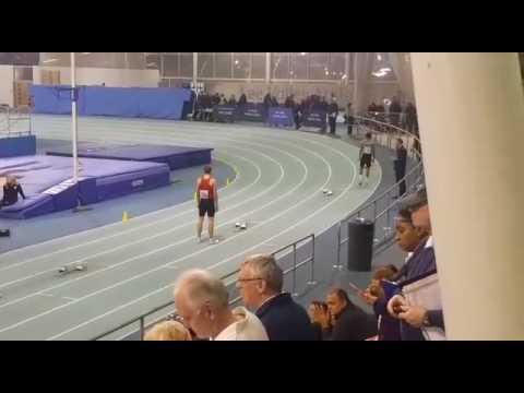 Ethan Brown 22.79 200m U17m London Indoor Games Jan 2017