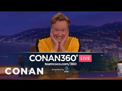 Coming Soon: The CONAN360° LIVE Pre-Show  - CONAN on TBS
