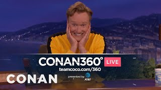 Coming Soon: The CONAN360° LIVE Pre-Show  - CONAN on TBS