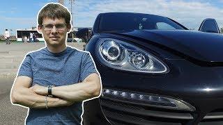 Porsche Cayenne 4.8! Убит в России! Пробег до 50 тыс !???