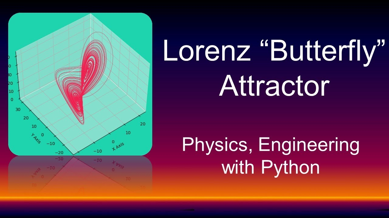 Tutorial wiil Lorenz Attractor | Butterfly Effect Chaos Theory