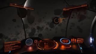 Elite Dangerous - 2.1.05 - Asteroid Belt Flyby