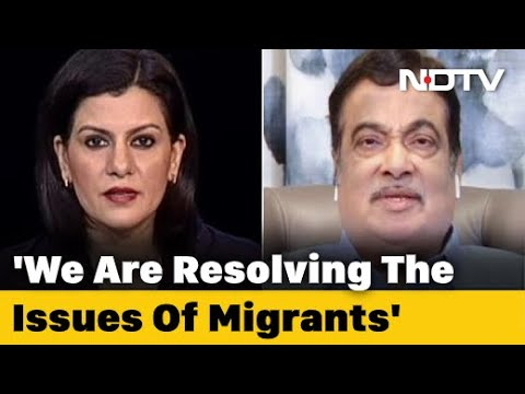 """Migrants Will Come Back When Business Starts"": Nitin Gadkari To NDTV"