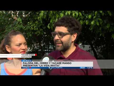 Visión 7 - Paloma y Yacaré se presentan en Niceto