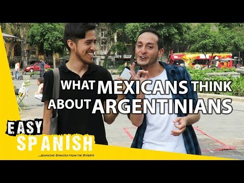 What Mexicans think about Argentinians | Easy Spanish 71