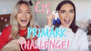 £25 PRIMARK CHALLENGE! BESTIE VS BESTIE | Sophia and Cinzia
